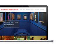 Boca Raton Museum - Website Design