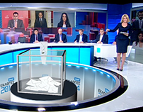 SKAI TV GREECE - ELECTIONS 2014 Virtual Graphics