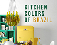 Kitchen colors of Brazil