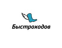 "Logo for ""Bystrohodov"" delivery service"