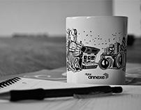 Digital Annexe  |  Company Mug Illustration
