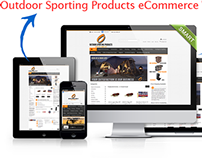 Magento eCommerce 25,000+ Outdoor Sporting Products