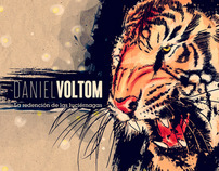 Daniel Voltom CD art and booklet