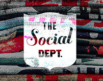 The Social Dept: Hand-printed pride