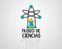 Marca y folleto cubo para Museo infantil de las ciencia