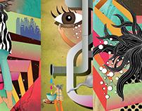 Big City Girls - Editorial Illustrations