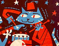 Music poster - La Grapa