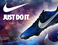Nike Mercurial Vapor Galaxy Edition Ad Work #1