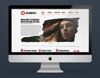 Seawolf - website concept