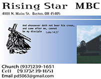 Rising Star Business Card