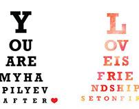 Target Artwork - Eye Chart