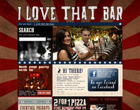 I Love That Bar website