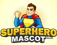 Superhero Mascot Pack Vol.1