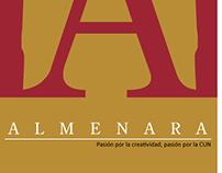 Isologotipo realizado para Almenara estudio creativo.