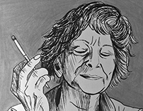 Wislawa Szymborska illustration