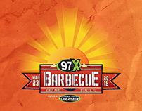 97X Barbecue 2015 | Branding