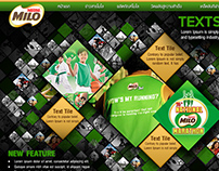 Milo redesign web concept