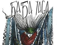 Baba Yaga Graphic Novel Development Work