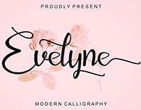 Free Evelyne Script Font