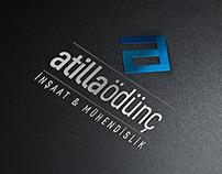 """Atilla Ödünç"" logo tasarımı"