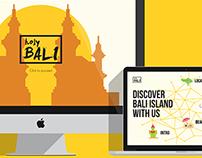 Holy Bali App/Web Design