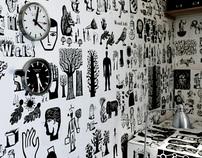 Drawn Ideas Room Installation