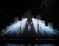 BAKU 2015 EUROPEAN GAMES / video mapping installation