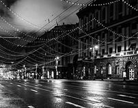 Tverskaya street, Moscow, Russian Federation