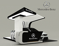 Mercedes-Benz New C-Class Booth