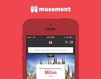Musement app
