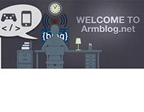Armblog.net-Facebook Cover and Logo