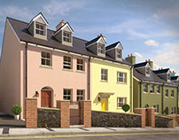 Luxury 3D Visuals of Cambrian Quay, Saundersfoot