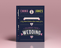 Wedding Invitations, Evening Invites & Website