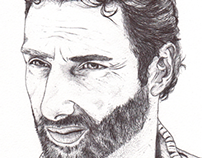 Rick, The Walking Dead biro