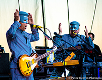 DEVO performs at Chateau Ste. Michelle 09/07/12
