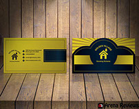 Black & Gold Business Card Template