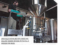 July Philly Beer Scene Magazine Brewer Profile