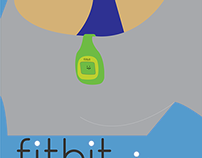 Fitbit Zip Promo Poster
