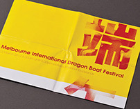 Melbourne International Dragonboat Festival Poster