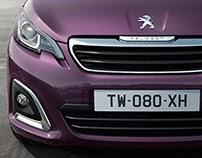Peugeot 108 - CGI