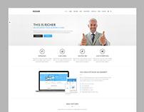 Richer Multi-Purpose Wordpress Theme