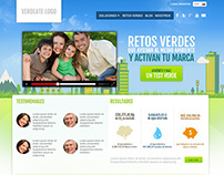 Verdeate website design proposals