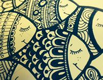 Ink doodles