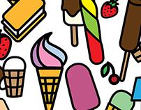 Ice cream seamless