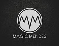 Magic Mendes branding.
