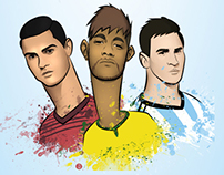 FIFA World Cup 2014 - Players