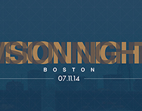 TheCity Boston // Vision Night