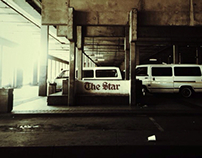 Bree Taxi Rank, Johannesburg, Shot with an IPhone