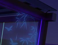 Creative Glass Solar Gazebo