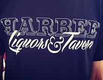 Harbee Liquors & Tavern Logo Design